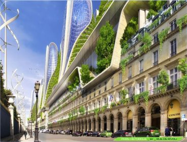 © Vincent Callebaut architectures, Paris smart city 2050